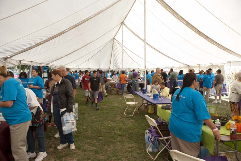 Health Fair Tent & Photo Gallery | Chickasaw Nation